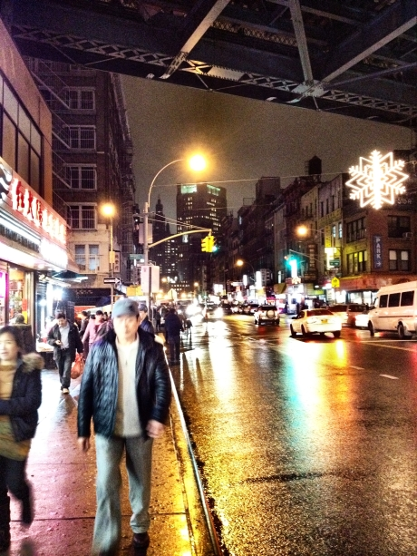 Nights on East Broadway